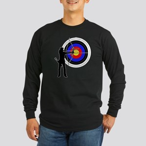 archery man Long Sleeve Dark T-Shirt