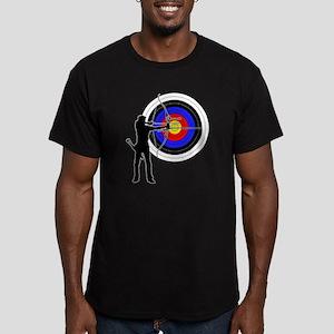 archery man Men's Fitted T-Shirt (dark)