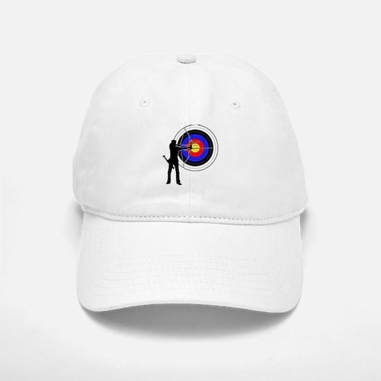 archery man Baseball Baseball Cap