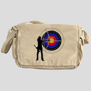 archery man Messenger Bag
