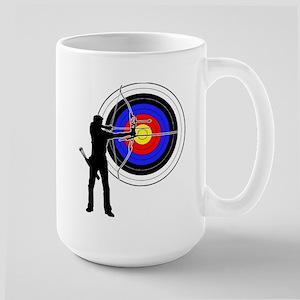 archery man Large Mug