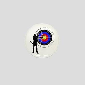 archery man Mini Button