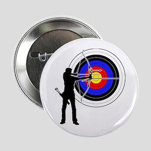 "archery man 2.25"" Button"