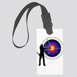 archery man Large Luggage Tag