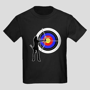 archery man Kids Dark T-Shirt