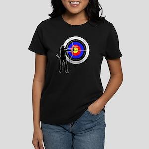 archery man Women's Dark T-Shirt