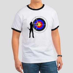archery man Ringer T