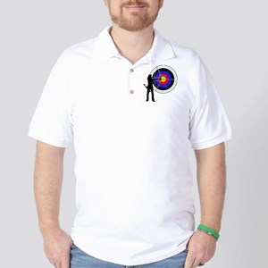 archery man Golf Shirt