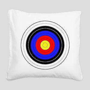 archery Square Canvas Pillow