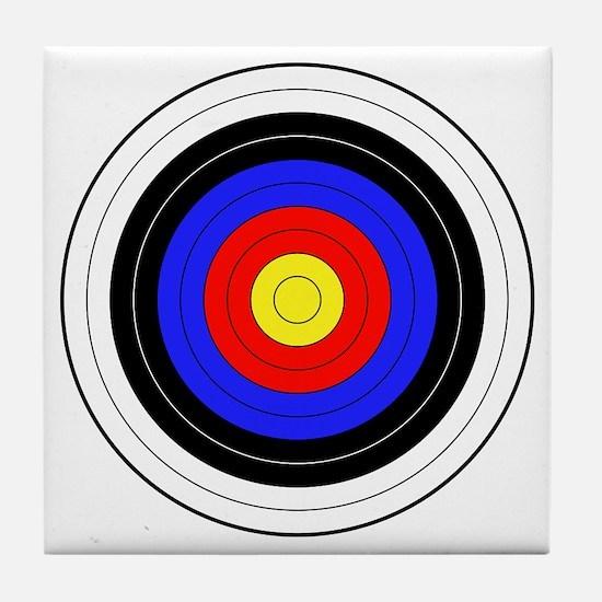 archery Tile Coaster