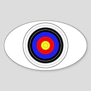 archery Sticker (Oval)