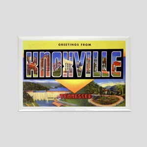 Knoxville Tennessee Greetings Rectangle Magnet