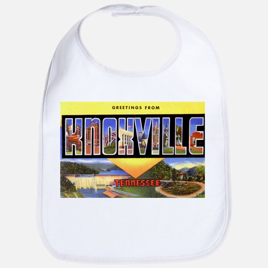 Knoxville Tennessee Greetings Bib