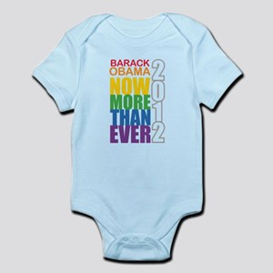 Obama Now More Than Ever Infant Bodysuit