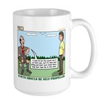 Scout Run Large Mug