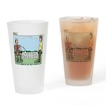 Scout Run Drinking Glass