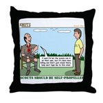 Scout Run Throw Pillow