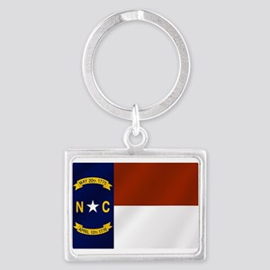 North Carolina Flag Keychains