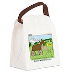 Trojan Horse Canvas Lunch Bag