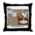 Wildlife Management Throw Pillow