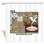 Wildlife Management Shower Curtain