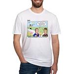 Shotgun Shooting Fitted T-Shirt