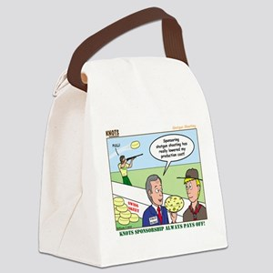 Shotgun Shooting Canvas Lunch Bag
