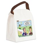 Shotgun Shooting Canvas Lunch Bag