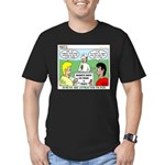 Orienteering Men's Fitted T-Shirt (dark)