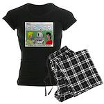 Orienteering Women's Dark Pajamas
