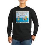 Lifesaving Long Sleeve Dark T-Shirt