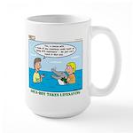 Lifesaving Large Mug