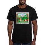 Golf Men's Fitted T-Shirt (dark)