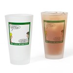 Leave No Trace Drinking Glass