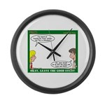 Leave No Trace Large Wall Clock