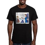 First Class Men's Fitted T-Shirt (dark)