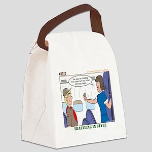 First Class Canvas Lunch Bag