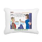 First Class Rectangular Canvas Pillow
