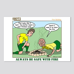 Fire Safety Postcards (Package of 8)