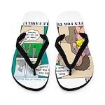 Knights Flip Flops
