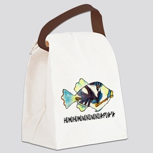 Humuhumunukunukuapua'a Fish Canvas Lunch Bag