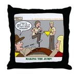 Cross Over Throw Pillow