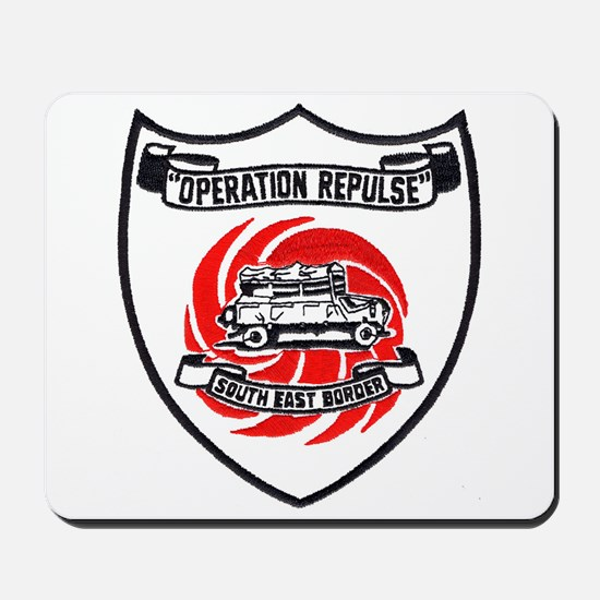 Rhodesia Operation Repulse Mousepad