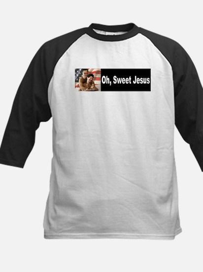Oh, Sweet Jesus Kids Baseball Jersey