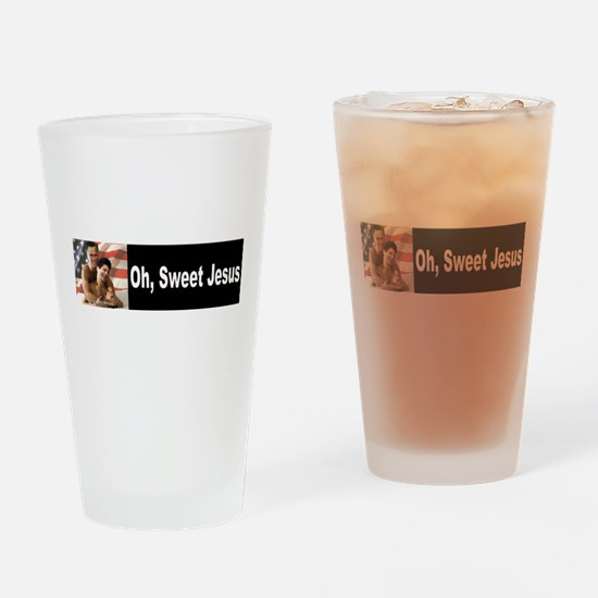 Oh, Sweet Jesus Drinking Glass