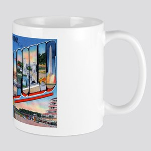 Indianapolis Indiana Greetings Mug