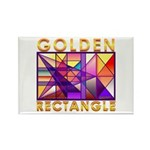 Golden Rectangle Rectangle Magnet
