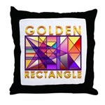 Golden Rectangle Throw Pillow