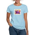 Golden Rectangle Women's Pink T-Shirt