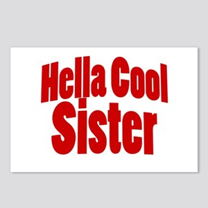 Hella Cool Sister Postcards (Package of 8)